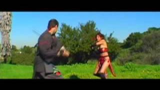 getlinkyoutube.com-Samurai Spirit (Ninja Girl vs Samurai)
