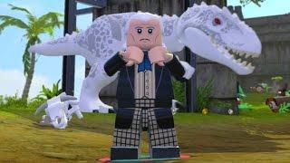 getlinkyoutube.com-LEGO Dimensions - First Doctor (William Hartnell) Free Roam Gameplay (Jurassic Adventure World)