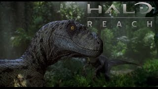 Halo: Reach Funny Moments - Jurassic Park, Vehicle Launches, and Gravity Fun!