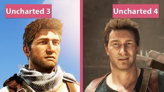 getlinkyoutube.com-Uncharted 4 PS4 vs. Uncharted 3 PS3 Graphics Comparison