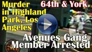getlinkyoutube.com-Avenues gang member shoots & kills innocent bystander after driver mad dogs him in Highland Park