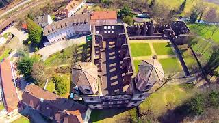 getlinkyoutube.com-Yuneec Q500 Typhoon Quadcopter - Klosterruine Frauenalb / Schwarzwald / Germany