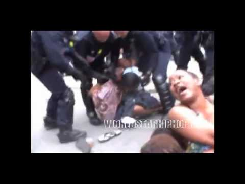 Video Sad To Watch Disturbing Footage Of French Police Filmed Dragging African Immigrant Women Taking Away Their Babies During A Protest!  [AFRICAX5.TV]