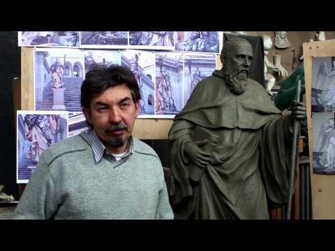 La Memoria della Pietra - Giancarlo Buratti (scultore creta)