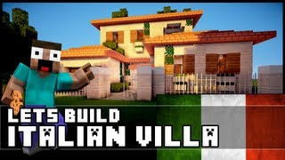 getlinkyoutube.com-Minecraft: How To Make an Italian Villa
