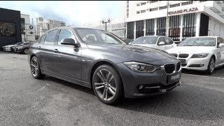 2012 BMW 328i Sport Line (F30) Start-Up and Full Vehicle Tour