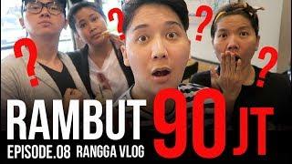 Rambut 90 JUTA!   Rangga Moela Vlogs #Eps8