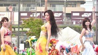 getlinkyoutube.com-妖艶ベリーダンス 長田フェスタ①・Bewitching belly dance Nagata Festa