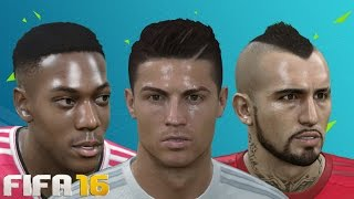getlinkyoutube.com-FIFA 16 Player faces and hair update w/ Ultra Graphics! Ft. Ronaldo, Martial and more!!