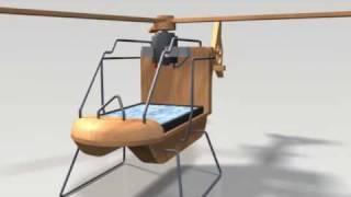 getlinkyoutube.com-Solar Powered Toy Helicopter Animation - Aduis
