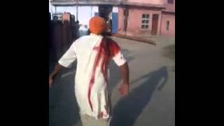 Attempt To Murder At Karnal Village In India