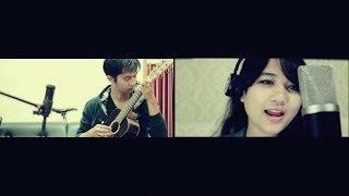 getlinkyoutube.com-All of Me  (Andri Guitara ft. Cikallia) John Legend cover