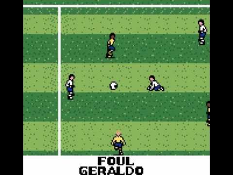 Retrogaming Fifa World Cup 2014 : Colombia Greece (Ronaldo V-Soccer Game Boy Color)