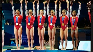 getlinkyoutube.com-USA Gymnastics: Teams Through the Years