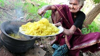 My 105 Years Grandma's Village Style Cabbage Curry | Cabbage Recipe | Country Foods