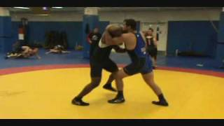getlinkyoutube.com-Clips and interviews of U.S. Greco-Roman World Team in high intensity live practice
