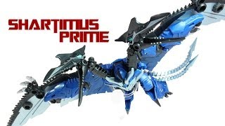 getlinkyoutube.com-Transformers 4 Age of Extinction Deluxe Strafe Evolution 2-Pack TRU Exclusive Action Figure Review