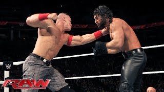 getlinkyoutube.com-John Cena vs. Seth Rollins: Raw, December 22, 2014