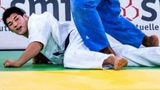 getlinkyoutube.com-JUDO 2008 Tournois de Paris: Kosei Inoue 井上 康生 (JPN) - Teddy Riner (FRA)