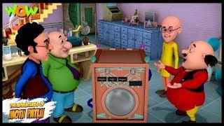 Dr Jhatka Ki Washing Machine   Motu Patlu   ENGLISH, SPANISH & FRENCH SUBTITLES!   Nickelodeon