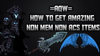 getlinkyoutube.com-=AQW= How to get Amazing Non Member Non ACs Items! 2015