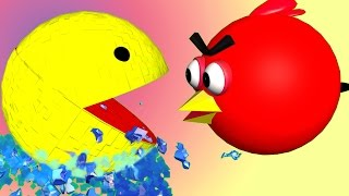getlinkyoutube.com-ANGRY BIRDS in PIXELS !!  ♫  3D animated  mashup parody ☺ FunVideoTV - Style ;-))