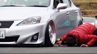 getlinkyoutube.com-シャコタン大会 その②  【Track and Show 2015】 車高短 Lowered Lowcar exhaust