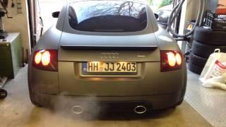 "getlinkyoutube.com-Audi TT 8n 1.8t quattro 3"" Edel01 ab Turbo 100 Zeller kat (direkt nach dem Einbau)"