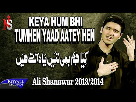 Ali Shanawar | Kya Hum Bhi Tumhein Yad Atey Hain | 2013-2014 | کیا ھم بھی تمھیں یاد اتے ھیں