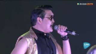 getlinkyoutube.com-SNH48 & PSY - Gentleman, Gangnam style, 小苹果, 倍儿爽