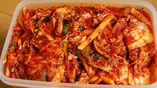 getlinkyoutube.com-How to make Easy Kimchi (막김치)