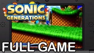 getlinkyoutube.com-Sonic Generations 3DS - Full Game Playthough