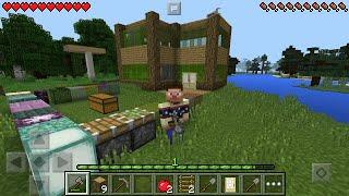 getlinkyoutube.com-#2 Строим Домик - Райский Город Выживание в Майнкрафт ПЕ 0.14.0 / 0.15.0 Minecraft PE
