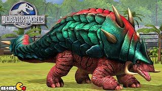 getlinkyoutube.com-MAX LEVEL MOSASAURUS DINOSAURS  - Jurassic World The Game