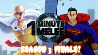 getlinkyoutube.com-One Punch Man vs Superman - One Minute Melee S3 Finale