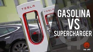 Cargar tu TESLA en un SUPERCHARGER costará igual que repostar GASOLINA (o eso dicen...)