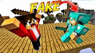 getlinkyoutube.com-ON TROLL DES JOUEURS AVEC UNE FAUSSE ARMURE EN DIAMANT ! | Minecraft