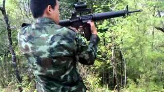 getlinkyoutube.com-ยิง M16A2 เล่น