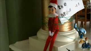 getlinkyoutube.com-Elf on the shelf caught on camera
