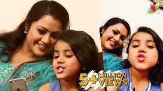 getlinkyoutube.com-Twinkle Twinkle Nainika Star - Actress Meena's Daughter Interview | Vijay's Theri Movie Special