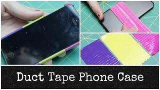 getlinkyoutube.com-Duct Tape Phone Case | Alexa's DIY Life