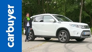 getlinkyoutube.com-Suzuki Vitara SUV review - Carbuyer