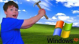 getlinkyoutube.com-Breaking Windows XP!