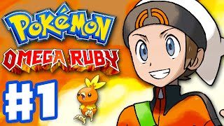 getlinkyoutube.com-Pokemon Omega Ruby and Alpha Sapphire - Gameplay Walkthrough Part 1 - Intro and Starter Evolutions