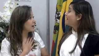 getlinkyoutube.com-Entrevista Diandra Brandt Programa Revolução Gospel