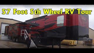 getlinkyoutube.com-Spacecraft RV Manufacturing 57 foot Custom 5th Wheel RV Coach