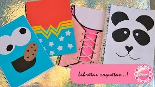 getlinkyoutube.com-DECORA TUS CUADERNOS - 4 IDEAS :::...♡ ♡ ♡