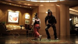 getlinkyoutube.com-YLYK Dance Videos - Bboy Bailrok (Rocksteady Crew) & Larry (Les Twins) New York | YAK FILMS uncut version