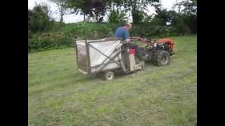 Einachser Ladewagen Eigenbau Hochentleerung
