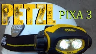 getlinkyoutube.com-Petzl Pixa 3 multi-beam headlamp